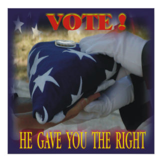 Right to Vote Poster