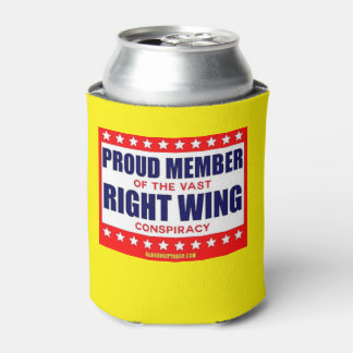 RIGHT WING CONSPIRACY CAN COOLER