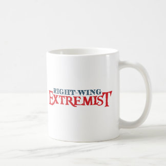 Right-Wing Extremist Basic White Mug
