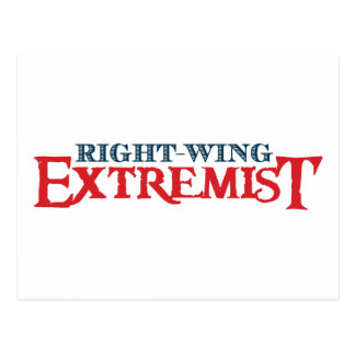 Right-Wing Extremist Post Card