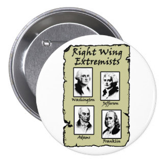 Right Wing Extremists Button