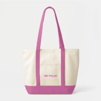 Right Wing Girl Canvas Bag