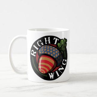 Right Wing Nut Coffee Mugs