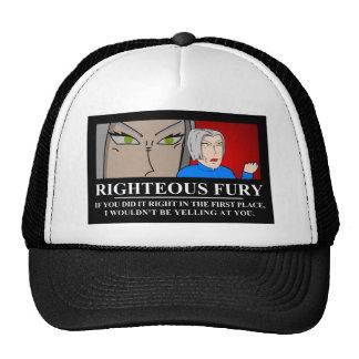 Righteous Fury Demotivator Hat