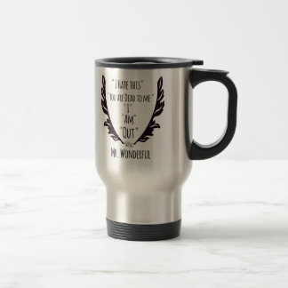 RightOn Mr. Wonderful Travel Mug