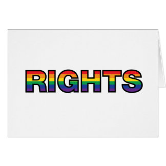RIGHTS GREETING CARD
