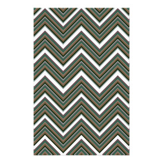 Rigid Wedged Chevrons Stationery
