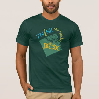 Riia's Designs / Think Outside The Box shirt