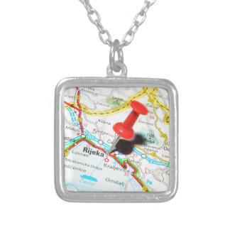 Rijeka, Croatia Silver Plated Necklace