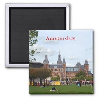 Rijksmuseum in Amsterdam. Magnet