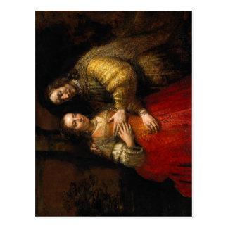 Rijn, Rembrandt Harmensz. van Nederlands: Portret  Postcard