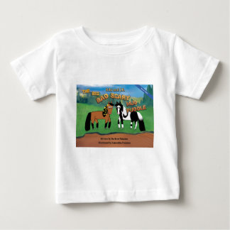 Riki and J.R.The Big Bad Scary Mud Puddle Horse Baby T-Shirt
