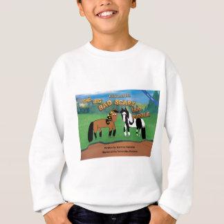 Riki and J.R.The Big Bad Scary Mud Puddle Horse Sweatshirt