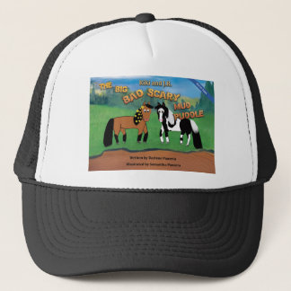 Riki and J.R.The Big Bad Scary Mud Puddle Horse Trucker Hat
