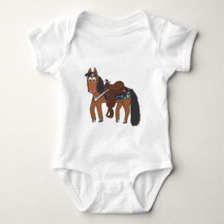 Riki Western horse Baby Bodysuit