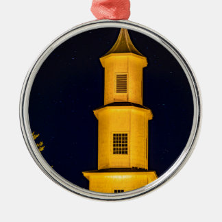 Rilan Church, Chiloe, Chile Metal Ornament