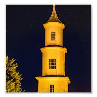 Rilan Church, Chiloe, Chile Photo Print