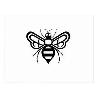 Riley Acres Bee Logo Postcard