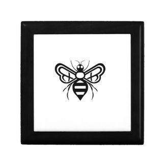 Riley Acres Bee Logo Small Square Gift Box