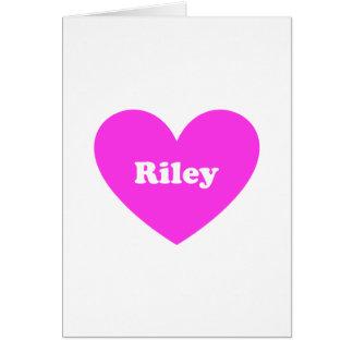 Riley Card