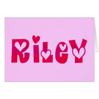 Riley in Hearts Card