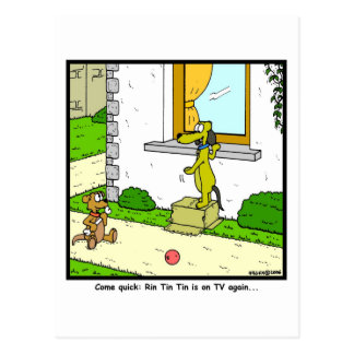 Rin Tin Tin Postcard