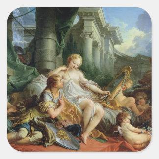 Rinaldo and Armida, 1733 Square Sticker
