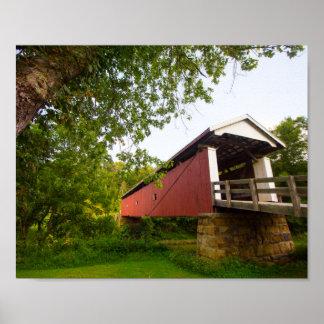 Rinard Covered Bridge, Ohio Poster