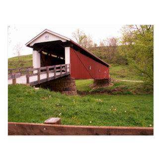 Rinard Covered Bridge Postcard