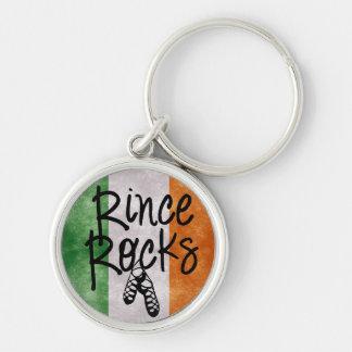 Rince Rocks Irish Flag Key Ring