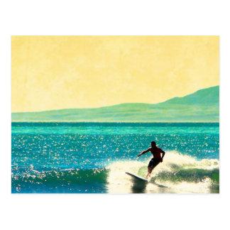 Rincon Surfer Postcard