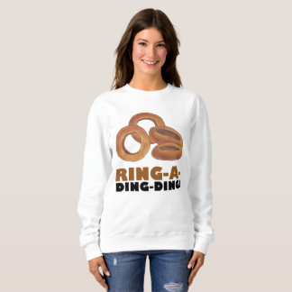 Ring-a-Ding-Ding Bride Engagement Bachelorette Sweatshirt