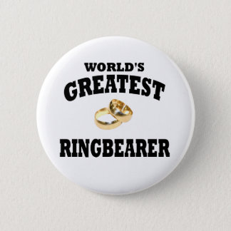 Ring bearer 6 cm round badge