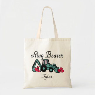 Ring Bearer Backhoe Budget Tote Bag