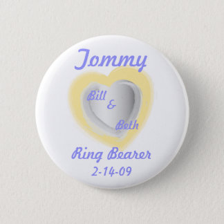 Ring Bearer Button-Customize 6 Cm Round Badge