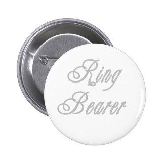 Ring Bearer Classy Grays 6 Cm Round Badge