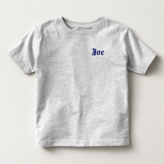 ring bearer - Customized Toddler T-Shirt
