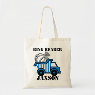 Ring Bearer Dump Truck Budget Tote Bag