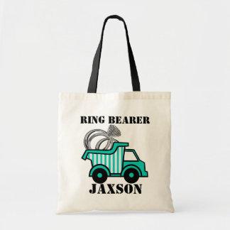 Ring Bearer Dump Truck Budget Tote Bag