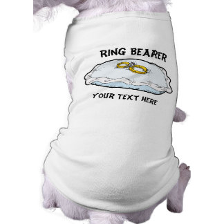Ring Bearer Gifts and Favors Shirt