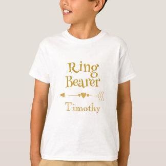 Ring Bearer Personalize T-Shirt