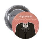 Ring bearer // PINK Badges