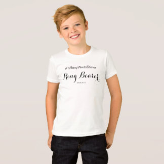 """""""Ring Bearer"""" T-Shirt from Complete Bridal Set"""