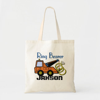 Ring Bearer Tow Truck Budget Tote Bag