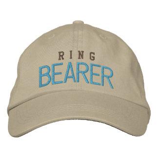 Ring bearer wedding bachelor blue baseball cap