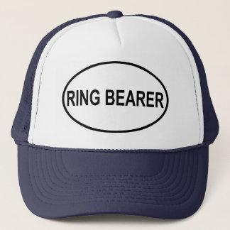 Ring Bearer Wedding Oval Trucker Hat