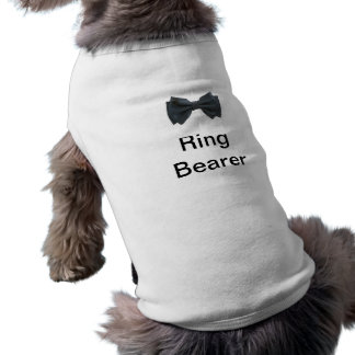 Ring Bearer with bow Shirt