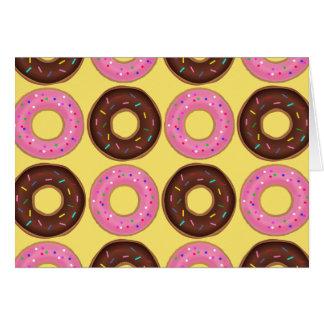 Ring Doughnut Birthday card