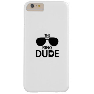 Ring Dude kids - Boys ring bearer wedding Barely There iPhone 6 Plus Case