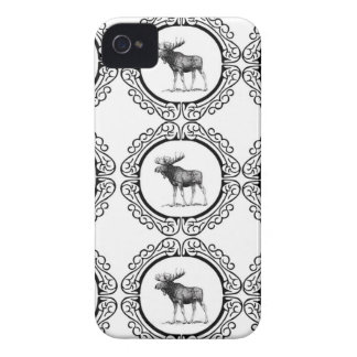 ring herd of moose Case-Mate iPhone 4 case